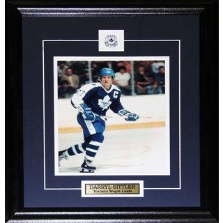 Darryl Sittler Toronto Maple Leafs 8x10-inch Frame