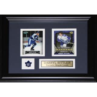 Darryl Sittler Toronto Maple Leafs 2-card Frame