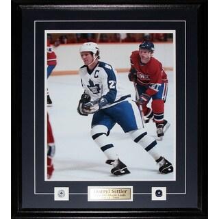 Darryl Sittler Toronto Maple Leafs 16x20-inch Frame