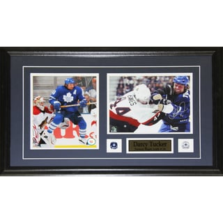 Darcy Tucker Toronto Maple Leafs Signed 2-photo Frame