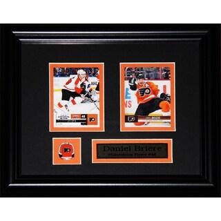 Daniel Briere Philadelphia Flyers 2-card Frame
