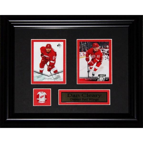 Dan Cleary Detroit Red Wings Nhl 2-card Frame
