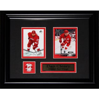 Dan Cleary Detroit Red Wings Nhl 2-card Frame
