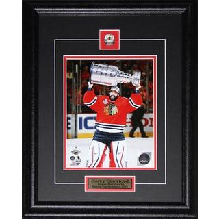 Corey Crawford Chicago Blackhawks 2015 Stanley Cup 8x10-inch Frame