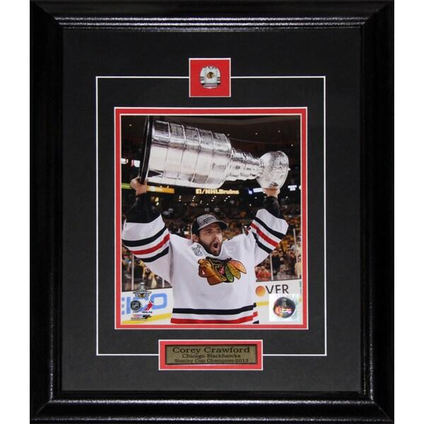Corey Crawford Chicago Blackhawks 2013 Stanley Cup 8x10-inch Frame