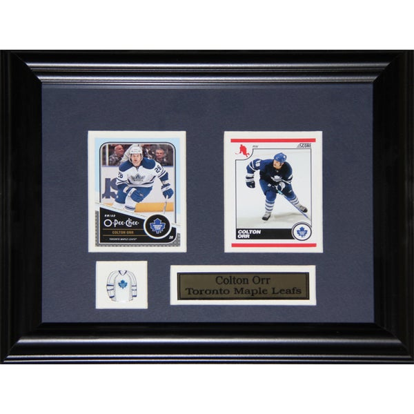 Colton Orr Toronto Maple Leafs 2-card Frame