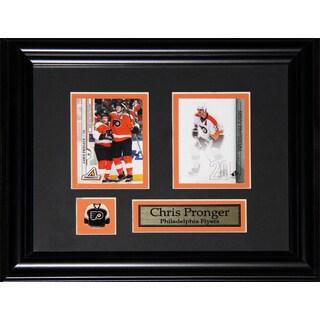 Chris Pronger Philadelphia Flyers 2-card Frame