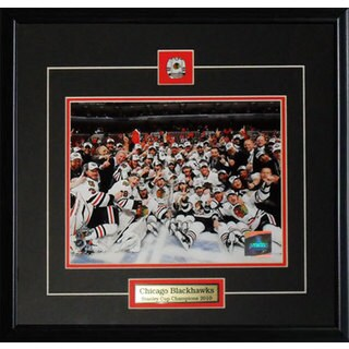 Chicago Blackhawks 2010 Stanley Cup 8x10-inch Frame