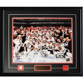 Chicago Blackhawks 2010 Stanley Cup 16x20-inch Frame