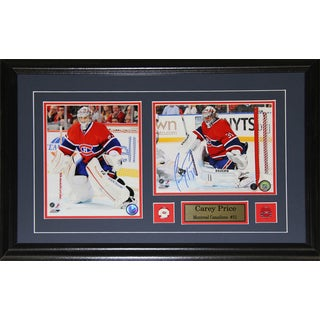 Carey Price Montreal Canadiens Signed 2-photo Frame
