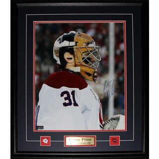 Carey Price Montreal Canadiens Signed 16x20-inch Frame