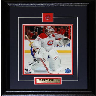 Carey Price Montreal Canadiens 8x10-inch Frame