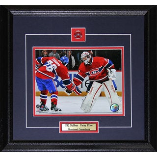 Carey Price and Pk Subban Montreal Canadiens 8x10-inch Frame