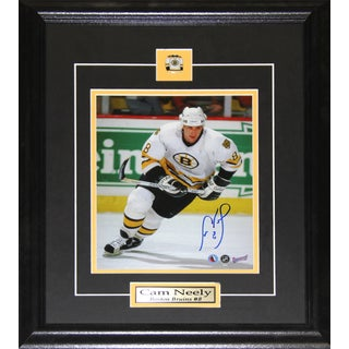 Cam Neely Boston Bruins Signed 8x10-inch Frame