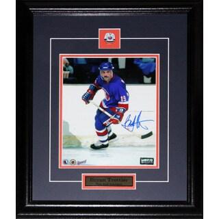 Bryan Trottier New York Islanders Signed 8x10-inch Frame