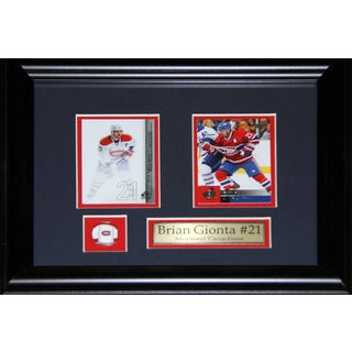 Brian Gionta Montreal Canadiens 2-card Frame