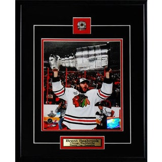 Brent Seabrook Chicago Blackhawks Stanley Cup 8x10-inch Frame
