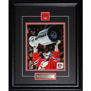 Brent Seabrook Chicago Blackhawks 2015 Stanley Cup 8x10-inch Frame