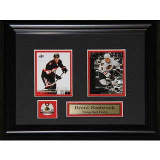 Brent Seabrook Chicago Blackhawks 2-card Frame