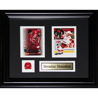 Brendan Shanahan Detroit Red Wings 2-card Frame