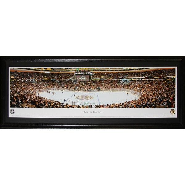 Boston Bruins Td Garden Panorama Frame
