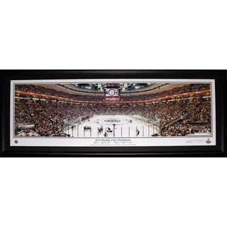Boston Bruins Td Garden Game 7 2011 Panorama Frame