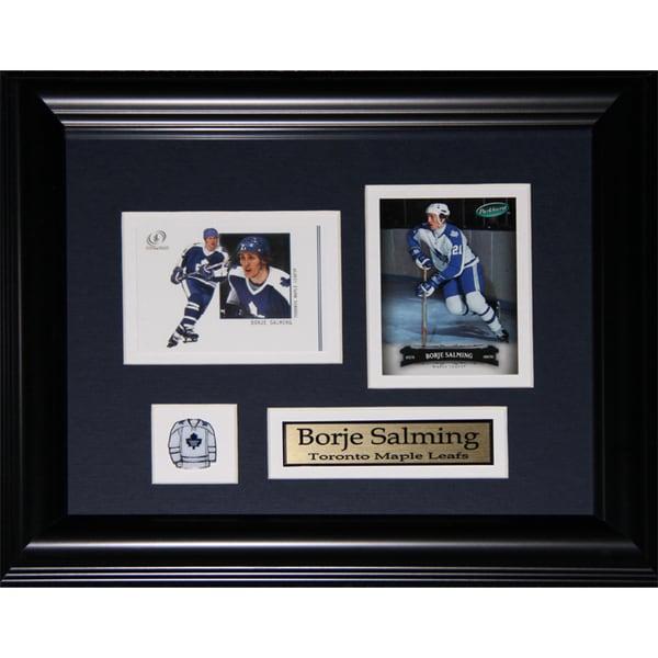 Borje Salming Toronto Maple Leafs 2-card Frame