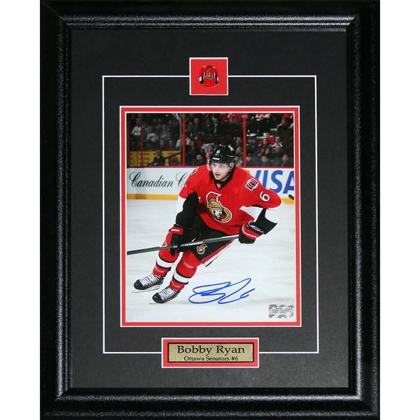 Bobby Ryan Ottawa Senators Signed 8x10-inch Frame