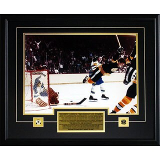 Bobby Orr The Goal Color 16x20-inch Boston Bruins Frame