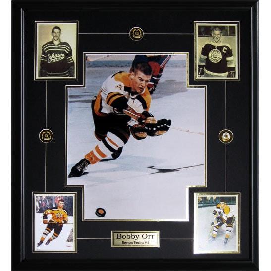 Bobby Orr Boston Bruins Oshawa Generals 16x20-inch 4 Photographs Frame