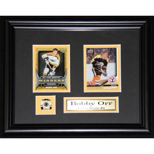 Bobby Orr Boston Bruins 2-card Frame