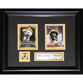 Bobby Orr Boston Bruins 2-card Frame