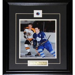 Bobby Orr and Dave Keon 8x10-inch Frame