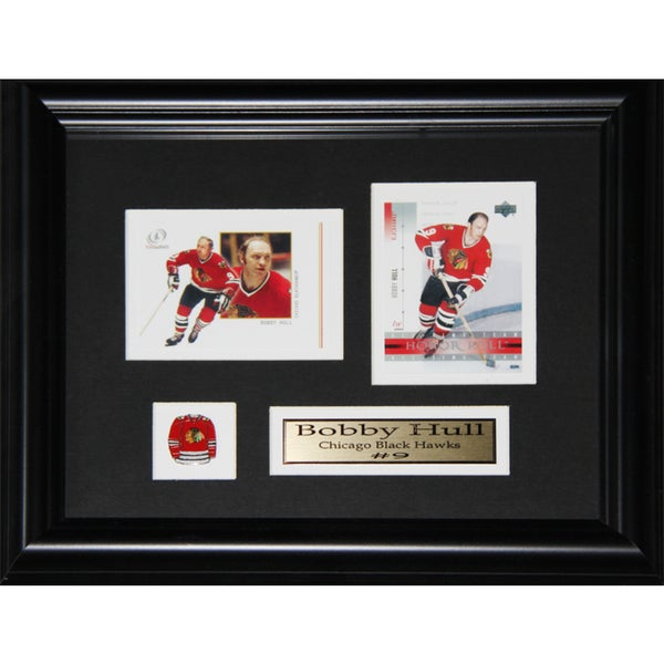 Bobby Hull Chicago Blackhawks 2-card Frame