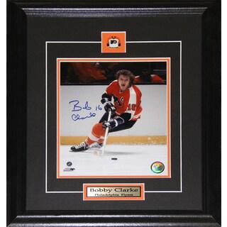 Bobby Clarke Philadelphia Flyers Signed 8x10-inch Frame
