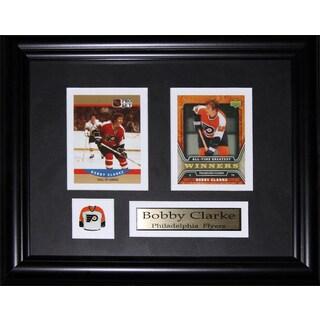 Bobby Clarke Philadelphia Flyers 2-card Frame