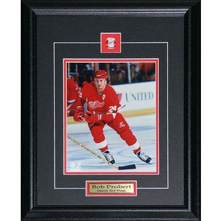Bob Probert Detroit Red Wings 8x10-inch Frame