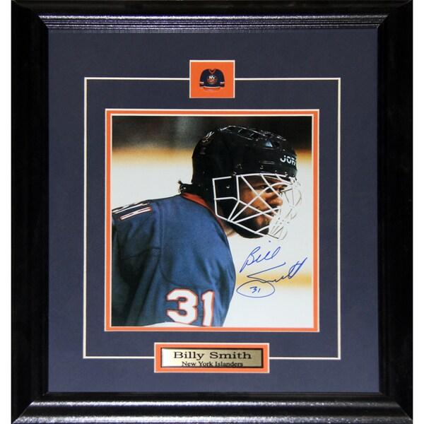 Billy Smith New York Islanders Signed 8x10-inch Frame