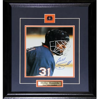 Billy Smith New York Islanders Signed 8x10-inch Frame
