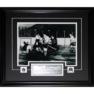 Bill Barilko Toronto Maple Leafs Goal 11x14 Frame