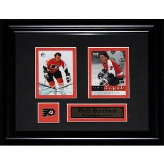 Bill Barber Philadelphia Flyers Nhl 2-card Frame