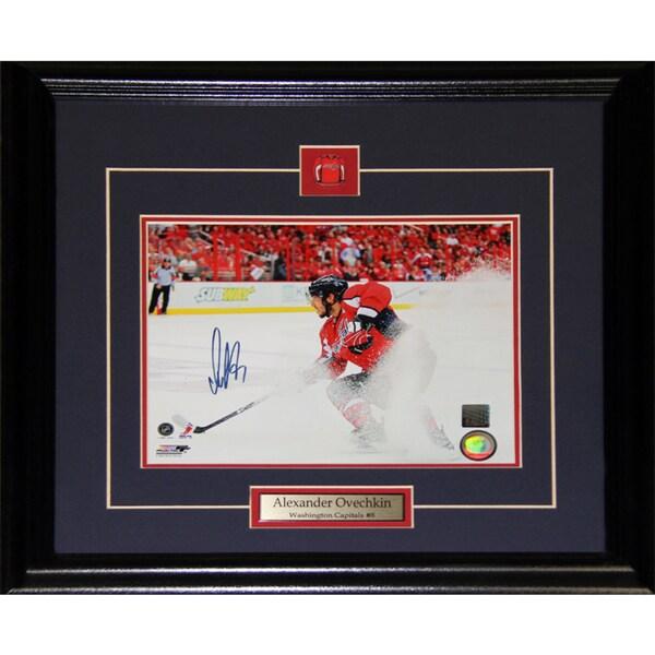 Alexander Ovechkin Washington Capitals Signed 8x10-inch Frame