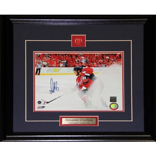 Alexander Ovechkin Washington Capitals Signed 8x10-inch Frame