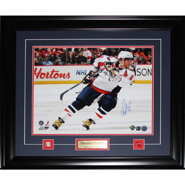 Alexander Ovechkin Washington Capitals Signed 16x20-inch Frame