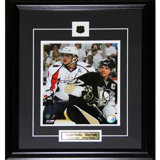 Alexander Ovechkin and Sidney Crosby 8x10-inch Frame