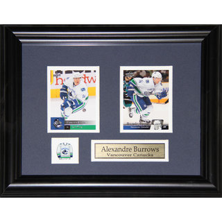 Alexander Burrows Vancouver Canucks 2-card Frame