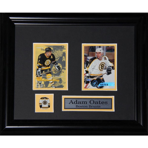 Adam Oates Boston Bruins 2-card Frame