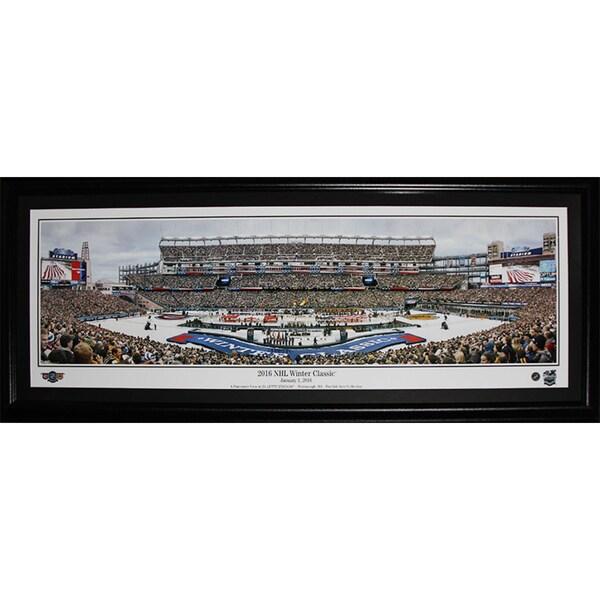 2016 Winter Classic Montreal Canadiens Vs. Boston Bruins Gillette Stadium Panorama Frame