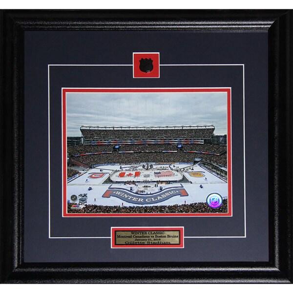 2016 Winter Classic Montreal Canadiens Vs. Boston Bruins Gillette Stadium 8x10-inch Frame