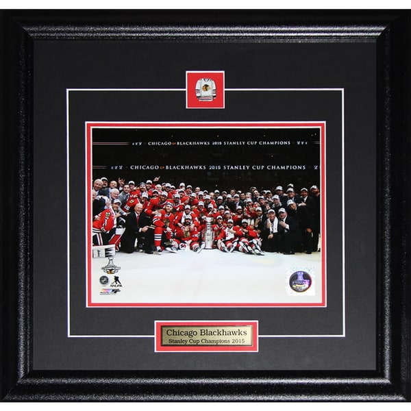 2015 Chicago Blackhawks Stanley Cup Champions 8x10-inch Frame